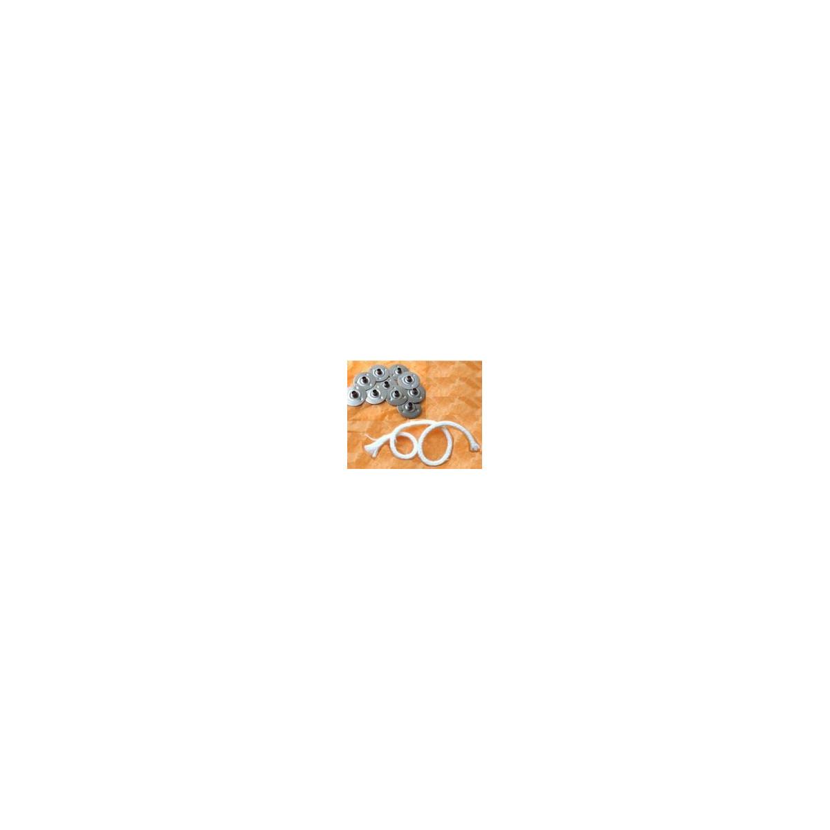 Socle pour mèche coton trou de 3mm