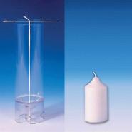 Moule à bougie cylindrique 65 mm