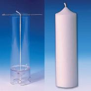 Moule à bougie cylindrique 200 mm