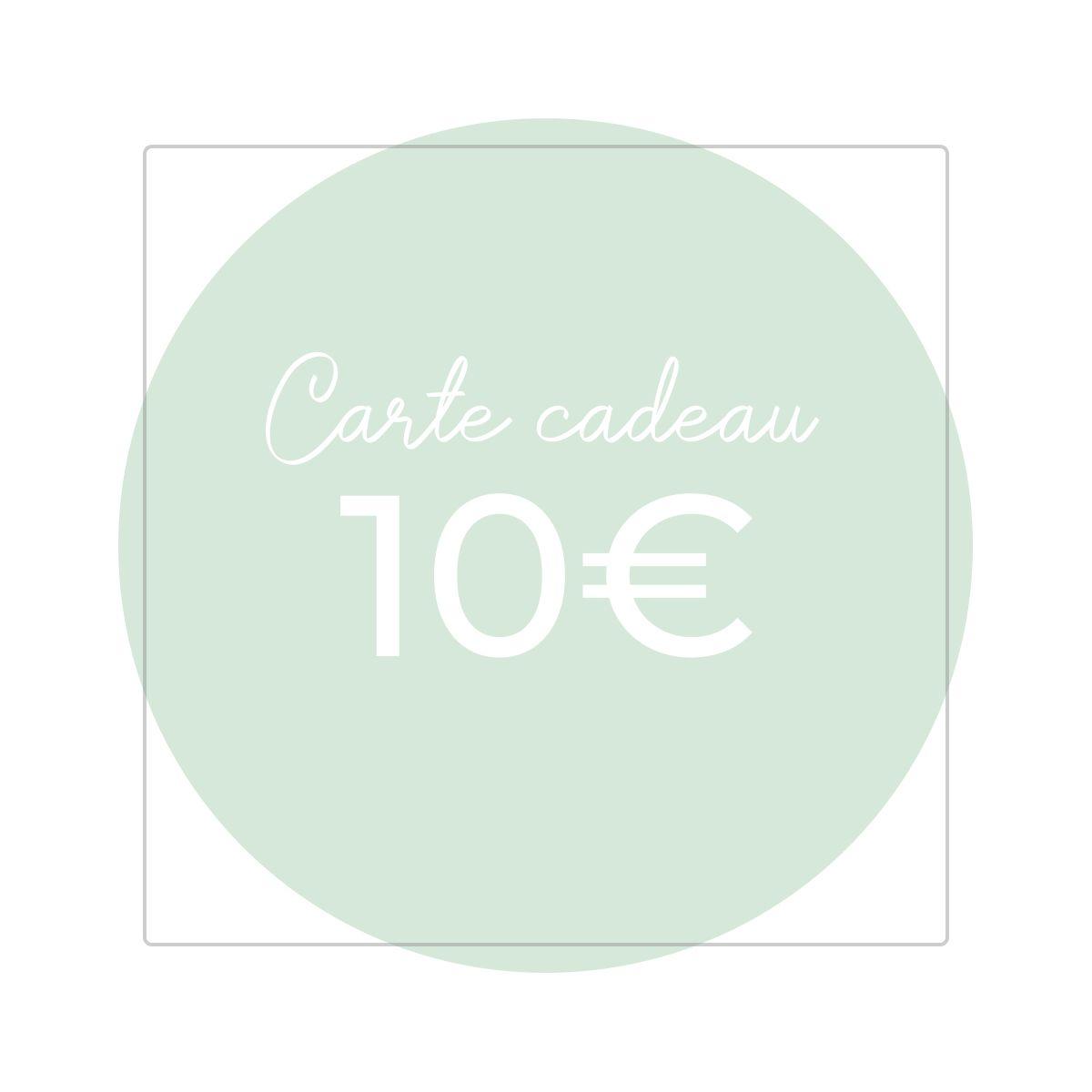 Carte Cadeau 10€ - Version numérique