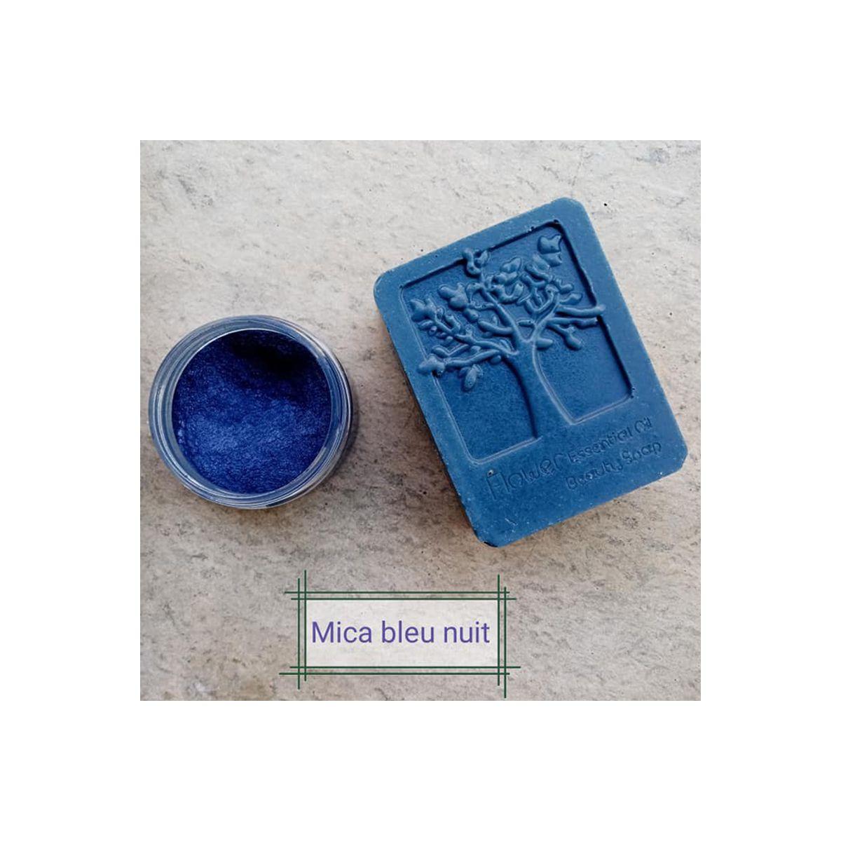 Mica Bleu nuit